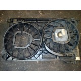 Elektriline jahutus ventilaator Audi A8 D3 4.0 TDI 4E0959455G 4E0121205B