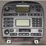 Raadio kassetimängijaga ja kliimaplokk Jaguar X-Type 2003 1X4H18C612GA 1X43-18K876-CA