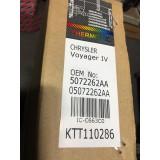 UUS Kliimaradiaator Chrysler Voyager 2.5CRD 2000-2008 05072262AA 5072262AA